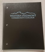 WPCC One Subject Spiral Notebook